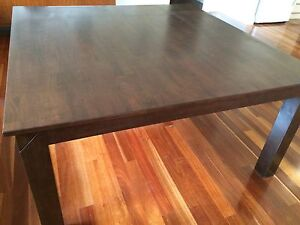 Timber dining table Lockleys West Torrens Area Preview