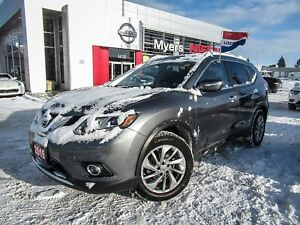 2015 Nissan Rogue SL, AWD, NAVIGATION, LEATHER, MOONROOF, BACK U