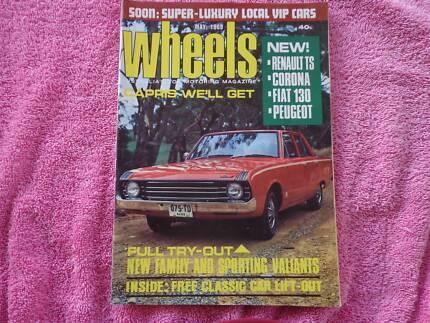 Wheels May 1969 - HK Monaro - Valiant Pacer.