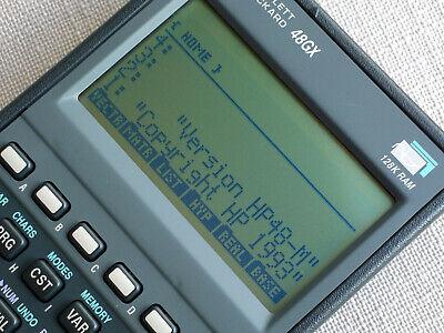 Hewlett Packard HP 48GX Calculator