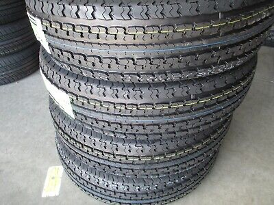 4 New ST 235/80R16 Cargo Max Radial Trailer Tires 10 Ply 2358016 80 16 R16 E