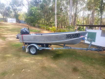 3.7m Topper craft Tinny / boat