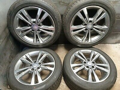 17 inch 5x112 Genuine Mercedes E class W212 Alloy wheels