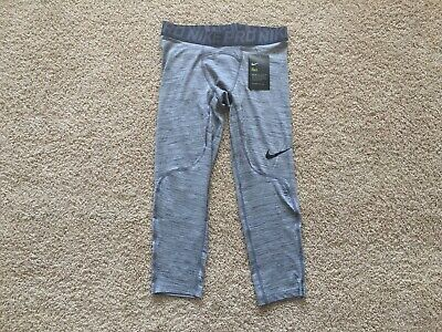 NEW Nike Pro 3/4 Length Compression Tights men 876643