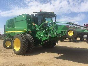 2012 John Deere T670 Combine