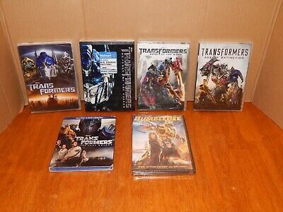 DVD Transformers- Complete Collection + BUMBLEBEE + Blu-Ray- The Last Knight NEW