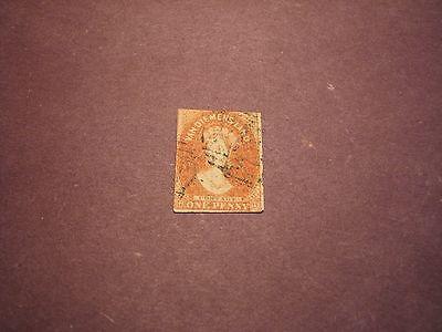 Australia Tasmania Stamp Scott# 11a  Queen Victoria 1865 C86