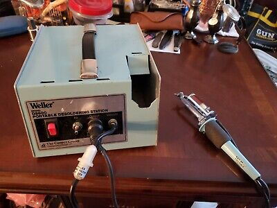 Weller Ds600 Portable Desoldering Station W Ds601p Ec234 Iron