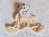 Schmusetuch Schmusetier Schnuffeltuch Stofftier Nilpferd Eddy Toys 25cm TOP