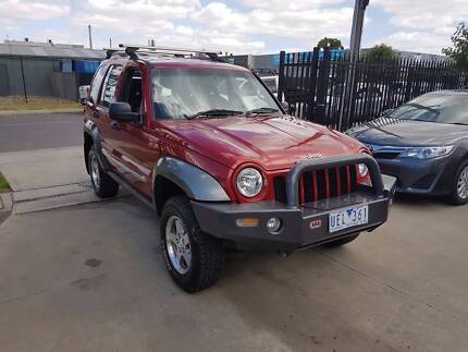 2006 Jeep Cherokee CRD Wagon AUTO TURBO DIESEL Williamstown North Hobsons Bay Area Preview