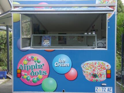 DIPPIN DOTS ICE CREAM / FOOD VAN Acton Park Clarence Area Preview