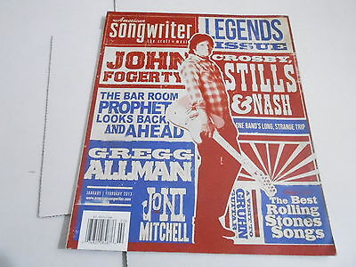 JAN/FEB 2013 AMERICAN SONGWRITER music magazine LEGENDS ISSUE ()