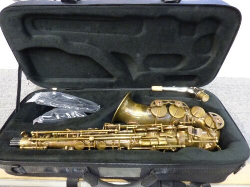 MINT Selmer AS42UL Unlacquered Alto Sax wcase*Consider it NEW*