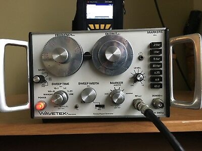 Wavetek 2001a Sweep Signal Generator. Looks Great.