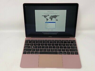 MacBook 12 Rose Gold Early 2016 1.3GHz m7 8GB 512GB - Fair Condition - READ