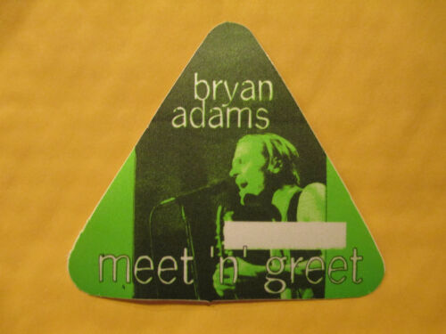 BRYAN ADAMS - MEET