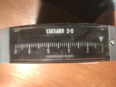 Type 180 D-c Ammeter 0-10 Dc Amps 50-180 Genera Electric Davis Standard