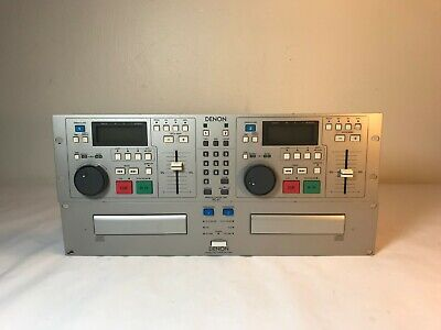 Denon DN-2700F Dual CD Mixer Player w Controller Denon Dual Cd Player