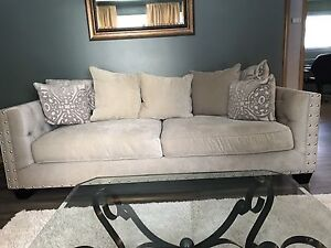New condition sofa and love seat
