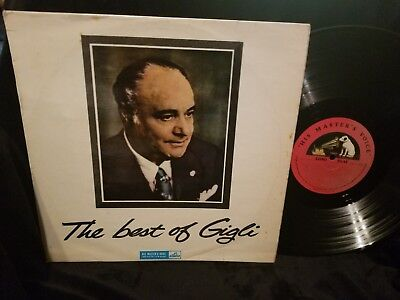 THE BEST OF GIGLI UK HMV LP IMPORT South African import JALP