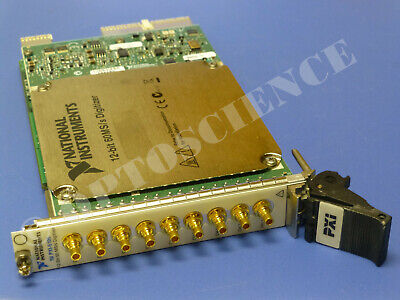 National Instruments Pxi-5105 Oscilloscope Card Ni Daq Scope 8ch 60mssec