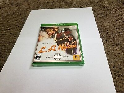 L.A. Noire (Microsoft Xbox One, 2017) new