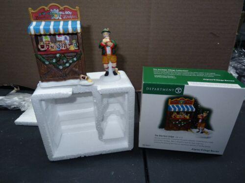 Dept 56 Alpine Village Series The Bierfest Judge 56311 Accessory Figurine