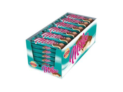 MILA Original Authentic European Slovak Wafers Chocolate Lot BOX - QTY 36 bars