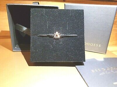 Bee & Goddess Tanit bracelet is the shining goddess of love and beauty.