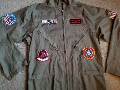TOP GUN MAVERICK AVIATOR FLIGHT SUIT COSTUME SIZE - Maverick Top Gun Kostüme