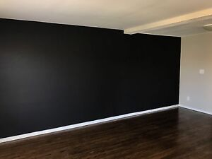 Chalkboard wall in your apartment! WESTERN