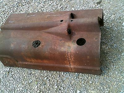 Farmall Lsm Louisville Super M Tractor Original Ih Hood For Over Engine W Clips