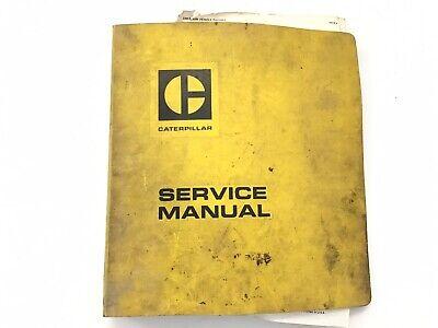 Caterpillar 955 Track Type Loader Service Manual Sn 57j 64j 71j 85j Stock 6w
