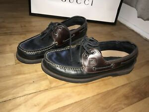 Men's black and Brown Sperry size 10.5