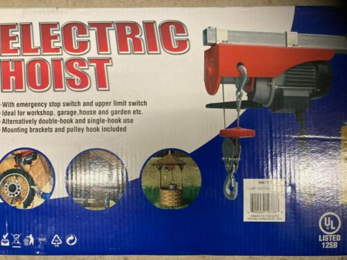 3/4 HP Electric Hoist Winch
