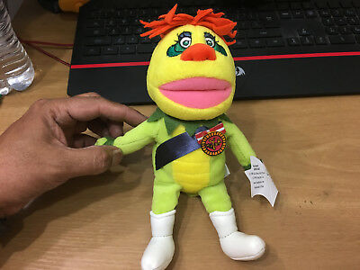 Krofft Superstars Beanie Bean Bag Plush H.R. PUFNSTUF New with Tags Beanie Bean Bag Plush