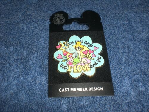 Disney DLR Create-A-Pin SMALL THINGS I LOVE ABOUT YOU TINKER BELL LE 500 Pin