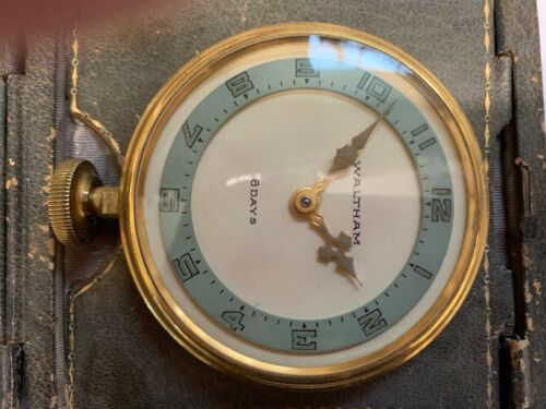 1926 Waltham 8-day Automotive Vintage Antique Collectible Watch