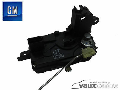 VAUXHALL ASTRA H ZAFIRA B DRIVERS SIDE O/S FRONT DOOR LOCK IDENT WT 13220368
