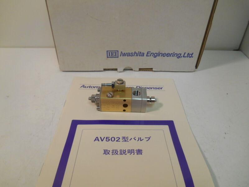 NIB Iwashita AV502 Needle Dispensing Valve