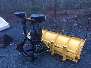 2005/2006 Fisher Minute hydraulic wing plow