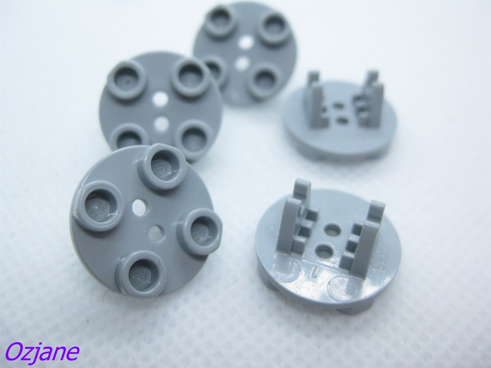 FREE P/&P! Round Thin with Wheel Holder LEGO 2655 2X2 Plate