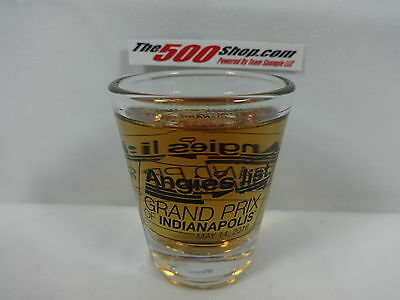 2016 Angies List Grand Prix Of Indianapolis Event Collector Shot Glass New