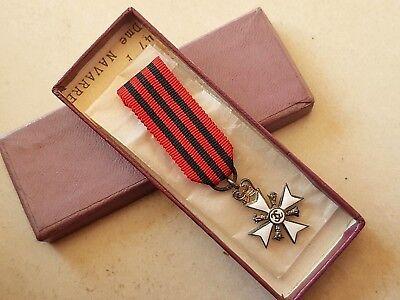 Mini Médaille Medaglia Medal honneur militaria DECORATION CIVIQUE 1940-1945