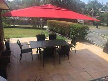 Shelta Savannah Cantilever Umbrella 4m x 3m  ResinBase and Light. Murarrie Brisbane South East Preview