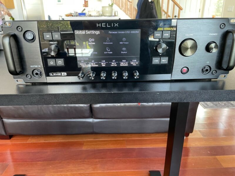 Line 6 Helix Rack - Excellent Condition! Free Shipping!