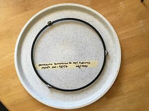 Microwave ceramic tray and roller ring