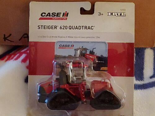 "CASE IH STEIGER 620 QUADTRAC TRACTOR, 1:64 SCALE- NIOP 5"" IN LENGTH, LIFE-LIKE"