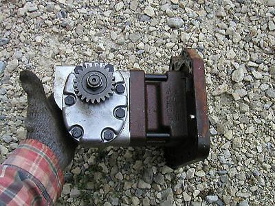 Farmall 706 Tractor Ih Ihc Cessna Hydraulic Pump And Mounting Cover Plate