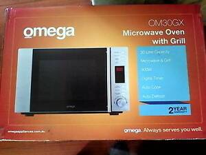 Omega Microwave Oven with Grill Werrington County Penrith Area Preview